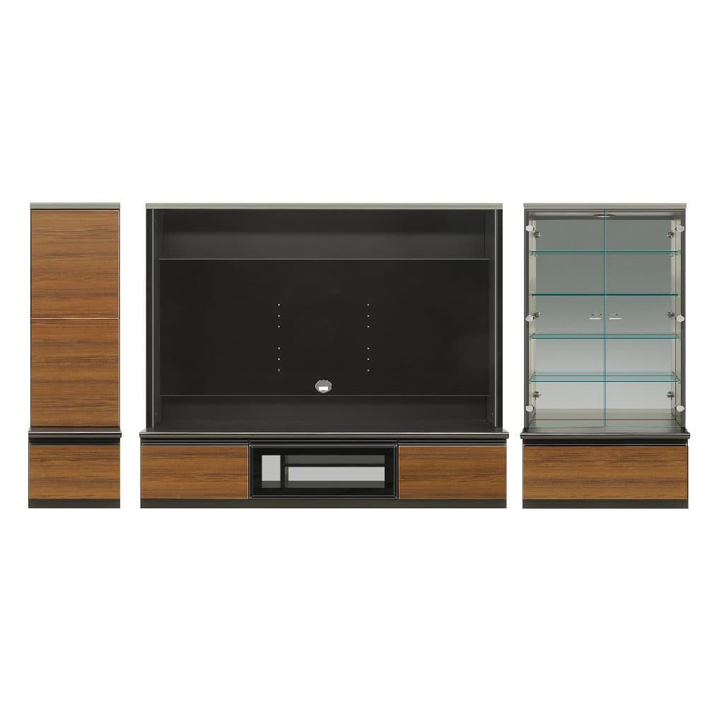 400左リビング+1600TV+700コレクション 前板/ナイスチーク色
