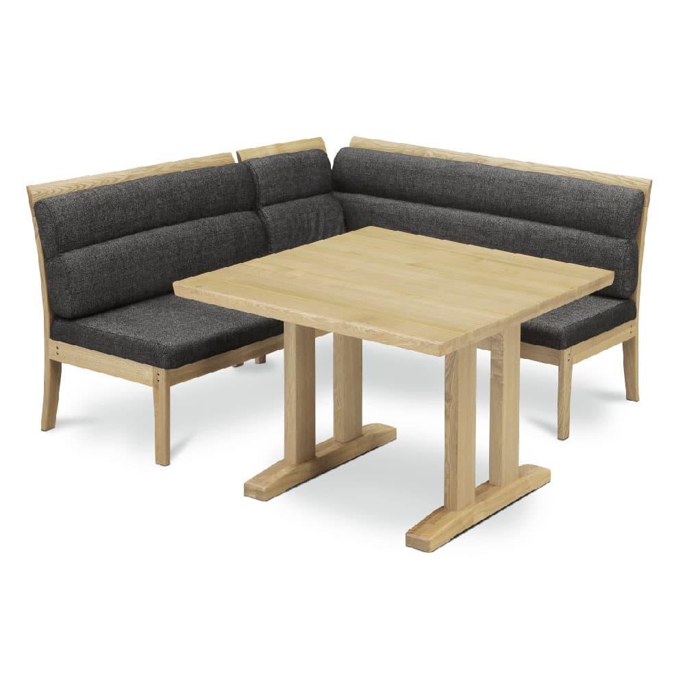 NA色 W1000テーブル+1000ベンチ+アーム+1450ベンチ