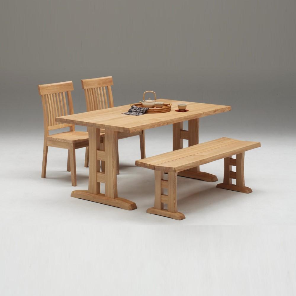 W1500テーブル+1300ベンチ+イス×2脚