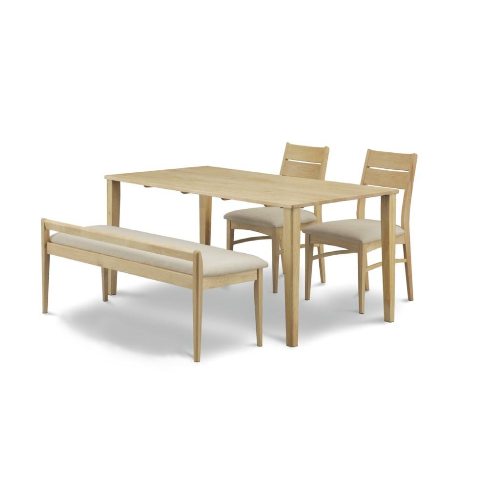 W1500テーブル+W1300ベンチ+イス×2脚