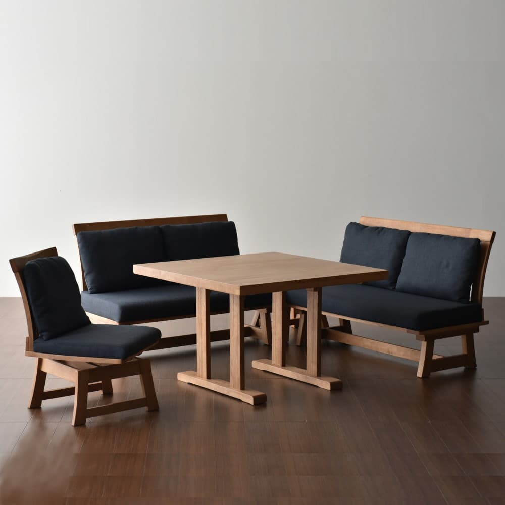 W1000テーブル+3P+2P+1P+コーナーテーブル